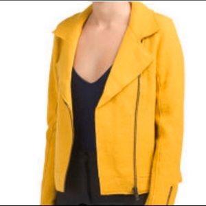 TAHARI moto zip jacket